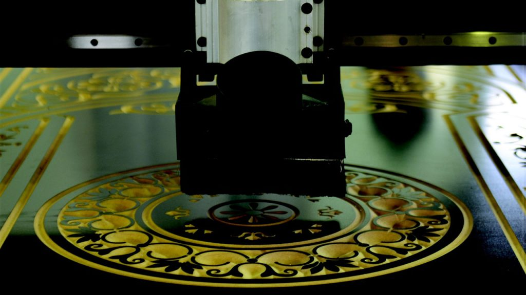 طراحی سه بعدی دستگاه سی ان سی